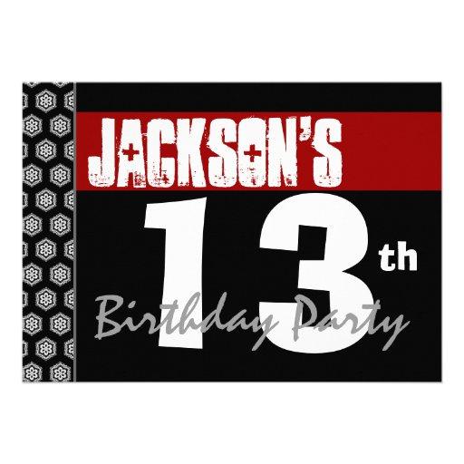 personalized birthday for boy invitations custominvitations4u com