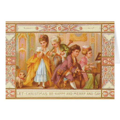 1800s CHRISTMAS NOTECARDS Amp GREETING CARDS Zazzle
