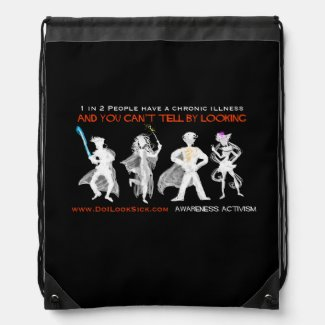 1 in 2 Cosplayers Invisible Illness Bag