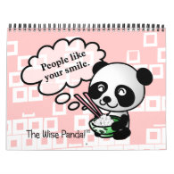 2014 Good Fortunes from the Wise Panda Calendar