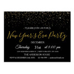 2020 New Year's Eve Party Glitter Sparkle Invite