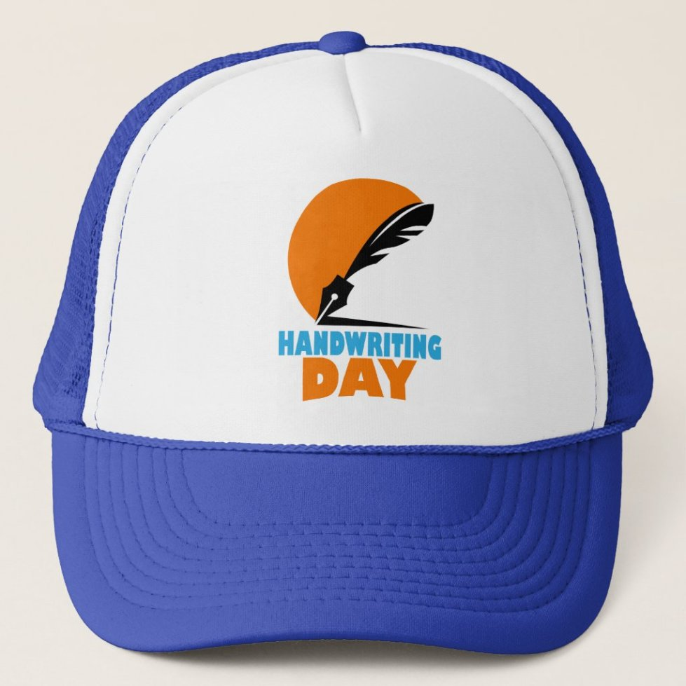23rd January - Handwriting Day Trucker Hat
