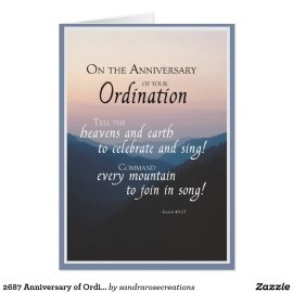 2687 Anniversary of Ordination