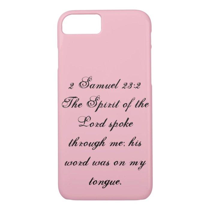 2 Samuel 23:2 Phone Case