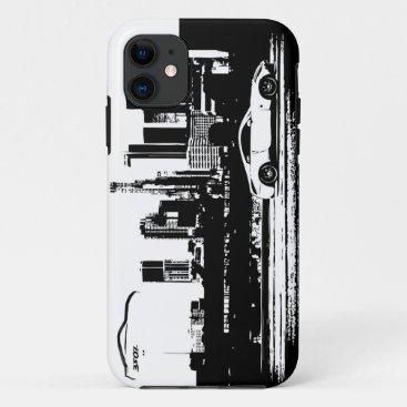 350Z Rolling shot Black Brushstroke logo iPhone 11 Case