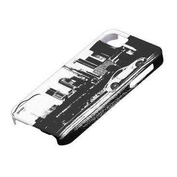 350Z Rolling shot Black Brushstroke logo iPhone SE/5/5s Case