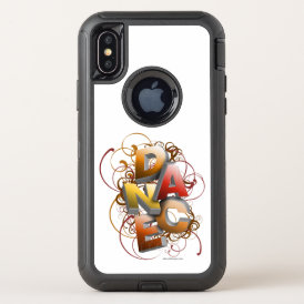 3D Dance (Fall) OtterBox Defender iPhone X Case