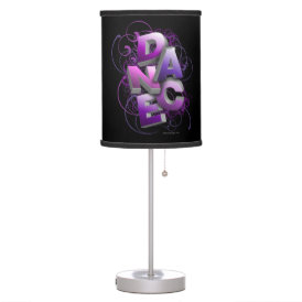 3D Dance (Summer) Table Lamp