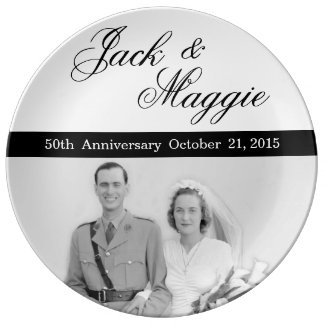 50th Anniversary | Commemorative Plate Porcelain Plates