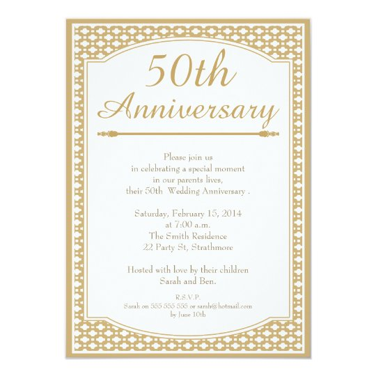 Cheap Gold Invitations