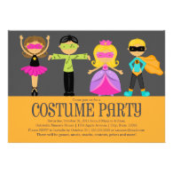5 x 7 Costume Party | Halloween Party Invite