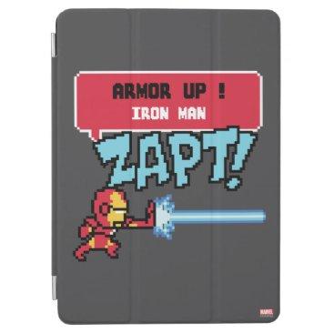 8Bit Iron Man Attack - Armor Up! iPad Air Cover
