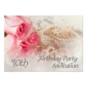 90th Birthday party invitation