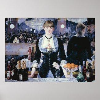 A Bar at the Folies-Bergère - Edouard Manet