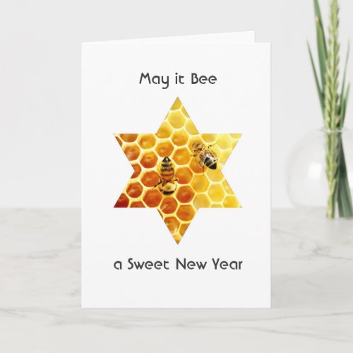 A Happy, Sweet, New Year's Greeting card