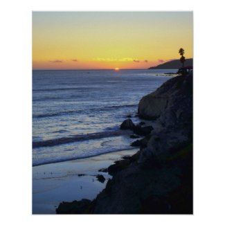 A Jewel on the Horizon Poster zazzle_print