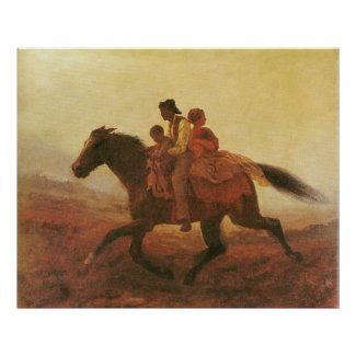A Ride for Liberty The Fugitive Slaves by Johnson Poster