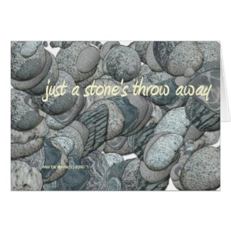 A Stone's Throw Away - Card card