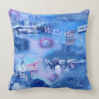 A Throw Pillow about Cape Town