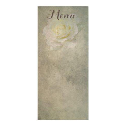 A Vintage Rose Romance Rack Card Design
