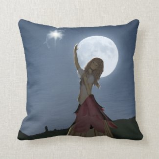 A Wish Come True Throw Pillow