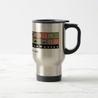 ABCs of Action Logo 15 oz Travel/Commuter Mug