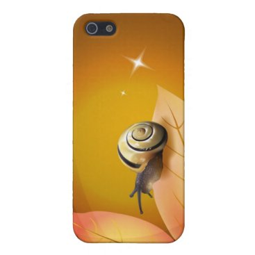 Abstract Art - Curious Snail iPhone SE/5/5s Case