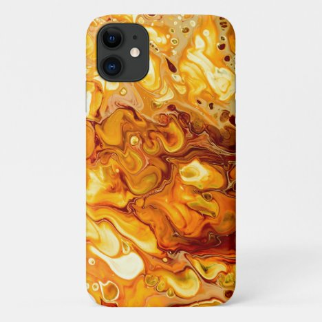 Abstract Art Paint Design iPhone 11 Case
