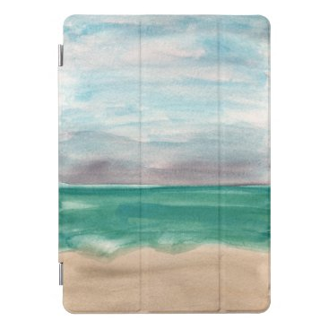 Abstract Beach Watercolor iPad Pro Cover