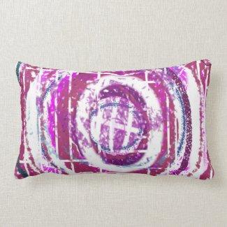 Abstract Designer Pillow by Barbara Dean Aliaga