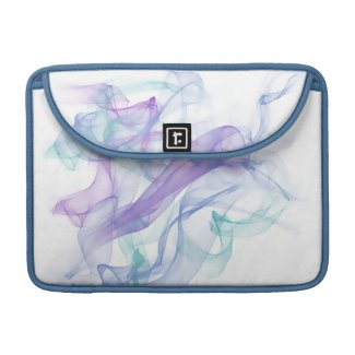 Abstract Purple Haze Sleeve For MacBook Pro