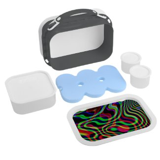 Abstract Yubo Lunchbox (BPA FREE)