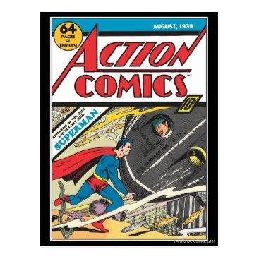 Action Comics - August 1939 Postcard