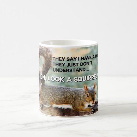 ADD Squirrel Photo Coffee Mug