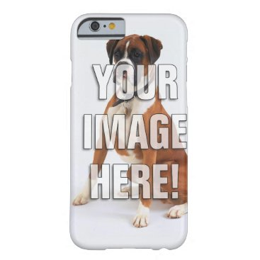 Add your dog photo barely there iPhone 6 case