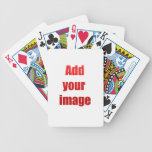 Add your image to customize playing cards