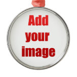 Add your image to customize ornaments