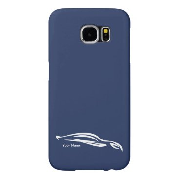 Add your name - Hyundai Genesis Coupe silhouette Samsung Galaxy S6 Case