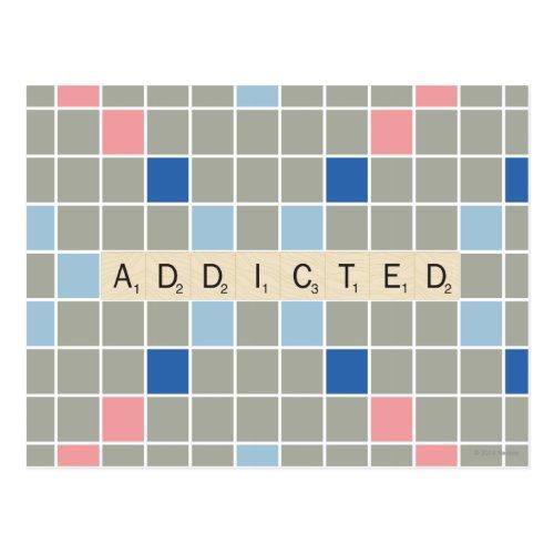 Addicted Postcard