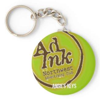 AdInk Keychain -- Add Your Name keychain