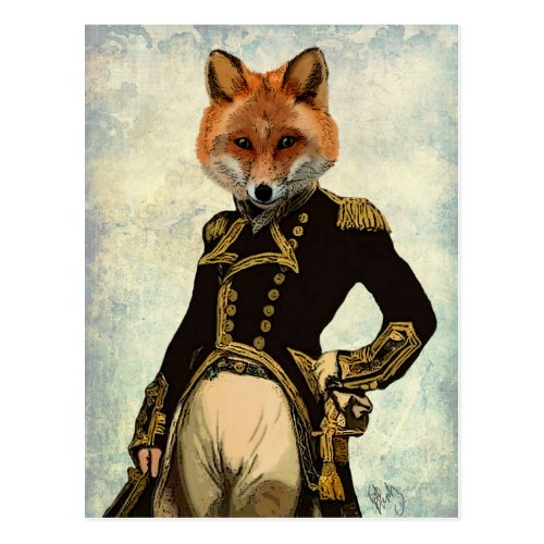 Admiral Fox Full 2 Postcard