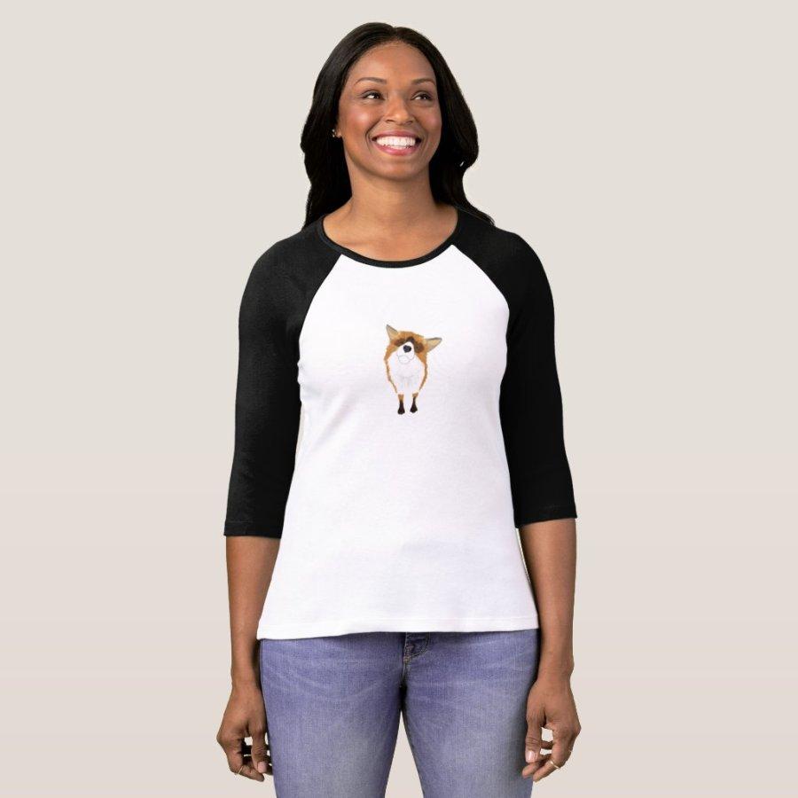 Adorable Curious Fox Shirt