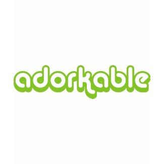 Adorkable (green) shirt