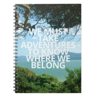 Adventures | Notebook