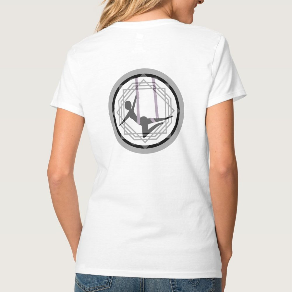 Aerial Yoga V neck Shirt