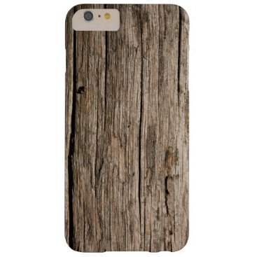 Aged Wood Grain Texture Barely There iPhone 6 Plus Case