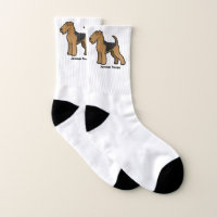 Airedale Terrier Socks