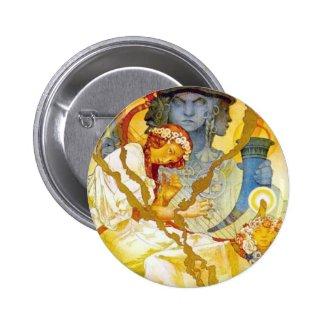 Alfons Mucha ~ Art Nouveau Pins