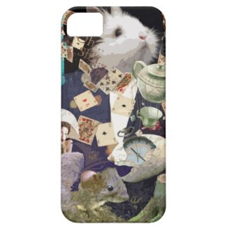 Alice in wonderland collage iPhone cases