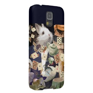 Alice in Wonderland collage Case For Galaxy S5